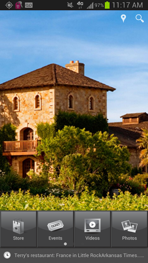 V. Sattui Winery - screenshot