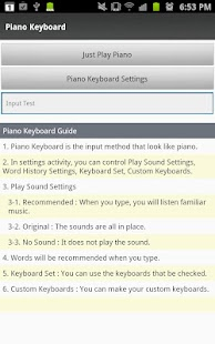 Piano Keyboard - screenshot thumbnail