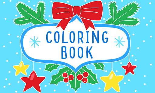 Christmas coloring book - demo