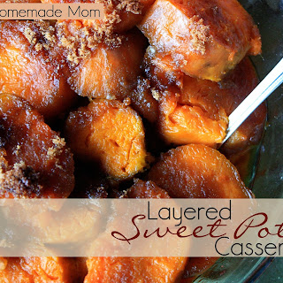 Layered Sweet Potato Casserole