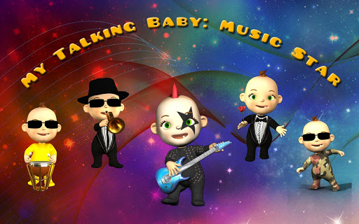 My Talking Baby Music Deluxe  screenshots 2