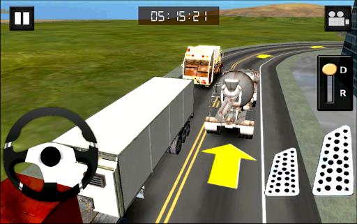 建設トラック3D