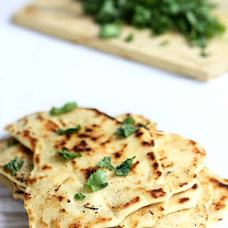 Quick Naan without Yeast.