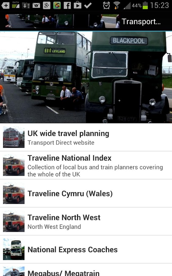 Transport UK Public.- screenshot