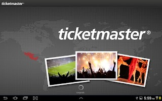 Screenshot of Ticketmaster México