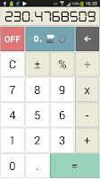 Screenshot of Time Calcul