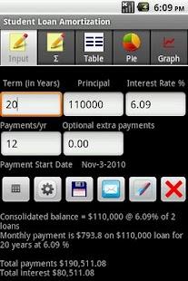 Student Loan - Advanced- screenshot thumbnail