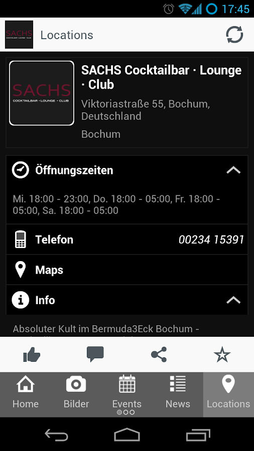 SACHS Bochum - screenshot