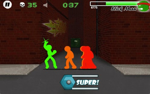 Stickman Fighter - LITE- screenshot thumbnail