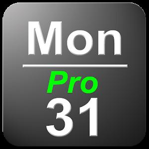 Date in Status Bar Pro