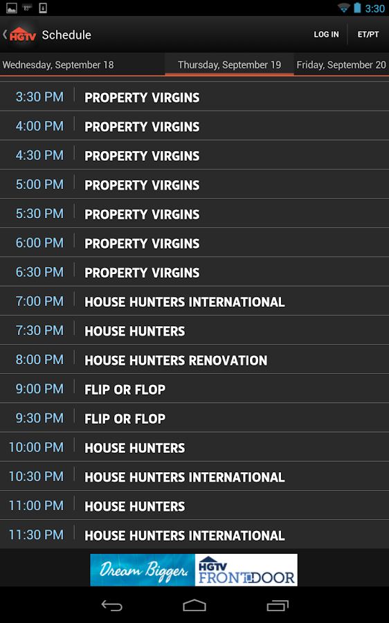 HGTV Watch - screenshot