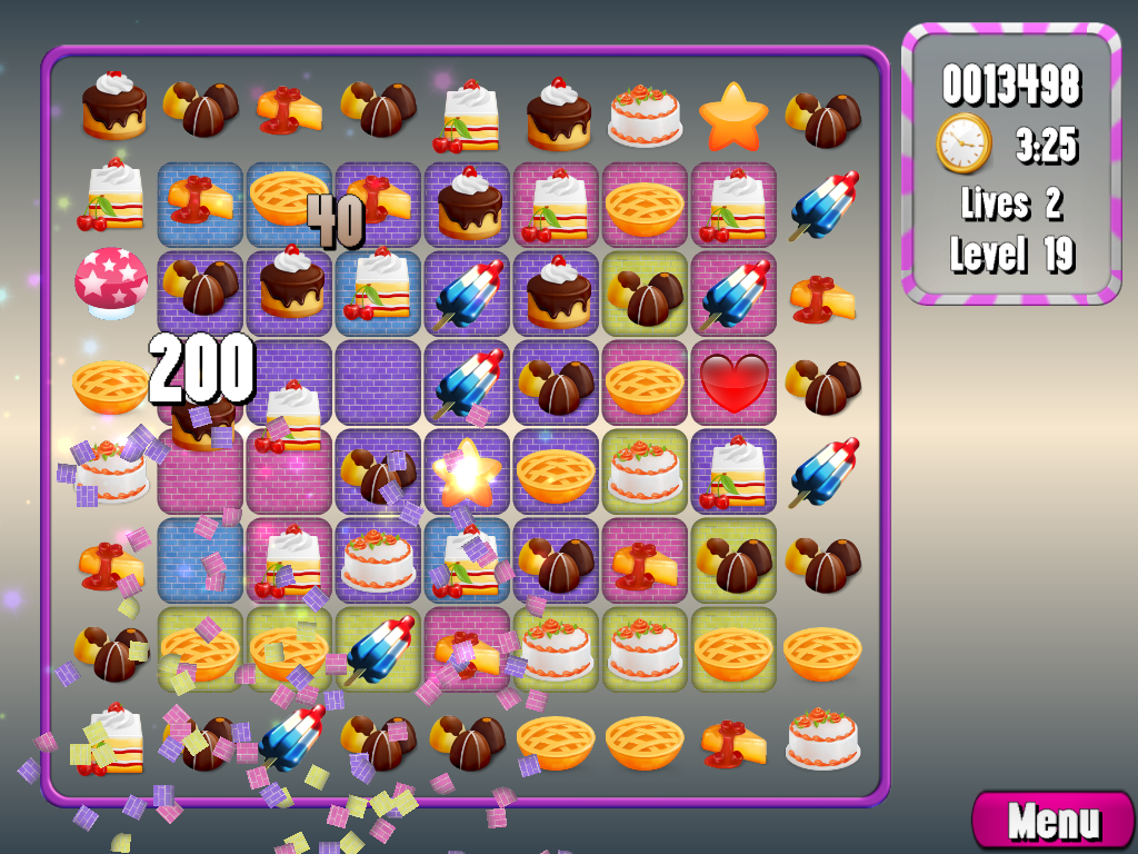 Cake Match 3- screenshot