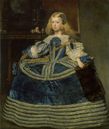 Infanta Margarita Teresa in a Blue Dress