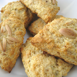 Almond Scones.