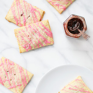 Strawberry Jam Toaster Pastries (Homemade Pop Tarts)