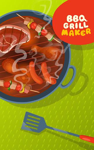 BBQ Grill Maker - Cooking Game  screenshots 7