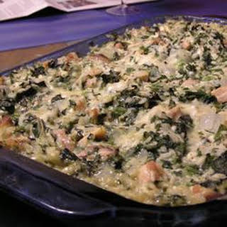 Chicken Florentine Rice Casserole.