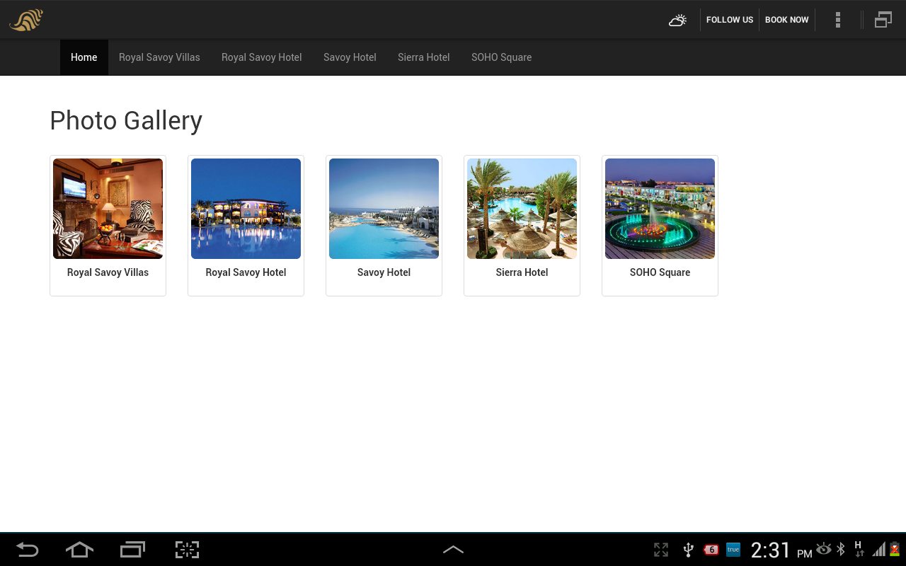Savoy Sharm Group- screenshot