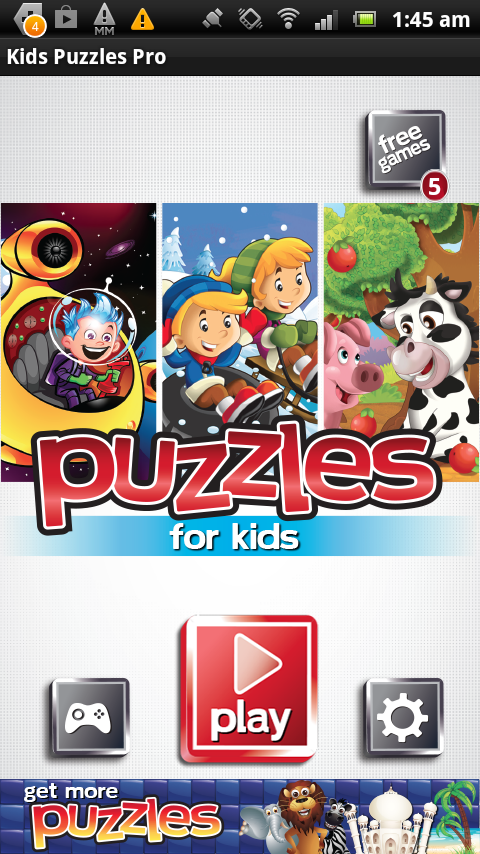 Free Kids Puzzles - Fun & Easy - screenshot
