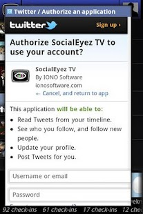 SocialEyez TV - screenshot thumbnail