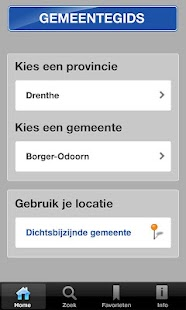 Gemeentegids voor Tablets- screenshot thumbnail