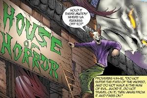 Screenshot of FUNHOUSE OF HORRORS