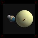 Earth, Moon & Sun logo