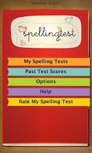 Spelling Test Free by FunExam - screenshot thumbnail
