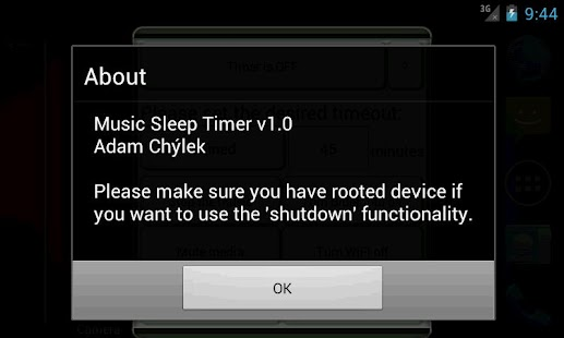 Music Sleep Timer - screenshot thumbnail