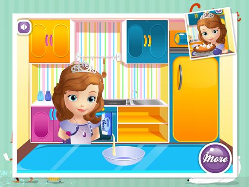 寶貝公主烹飪南瓜餡餅