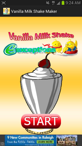 Vanilla Milk Shake Maker