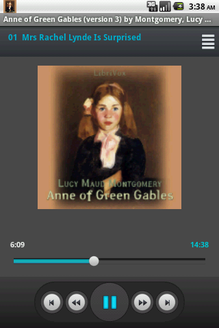 Audiobook Anne of Green Gables