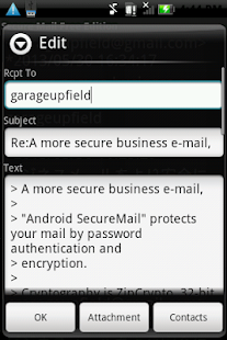 SecureMail Free Edition - screenshot thumbnail