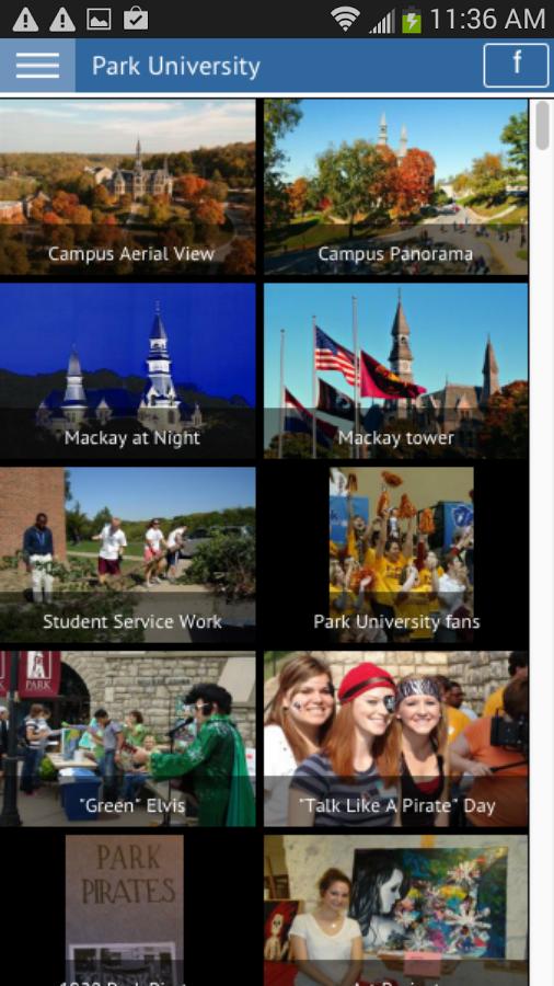 Park University - screenshot