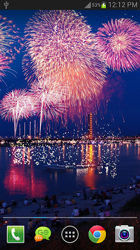 New Year Fireworks LWP (PRO) 1.3.1 screenshots 6
