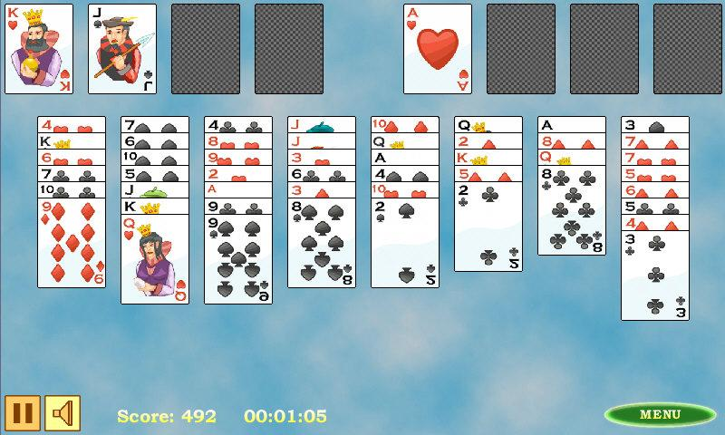 Free Cell Solitaire- screenshot