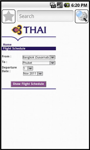 Thai Airways Demo