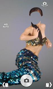 Fairytale girl dress montage screenshot