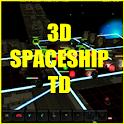 3D SPACESHIP TD icon