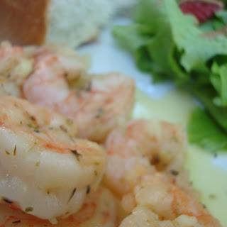 Limoncello Shrimp.