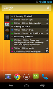 All-in-One Agenda widget v1.4.15 (Premium)