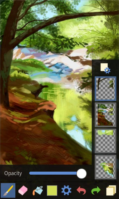 Fresco Paint Lite - screenshot