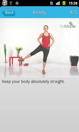 女性の足のワークアウトFREE