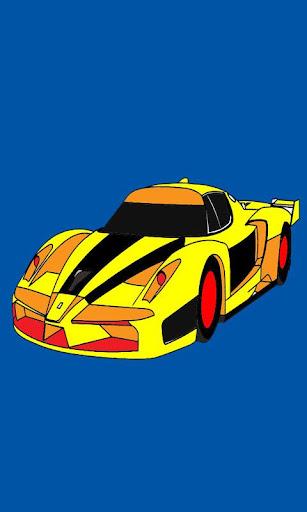 Speed Car Racing Paint