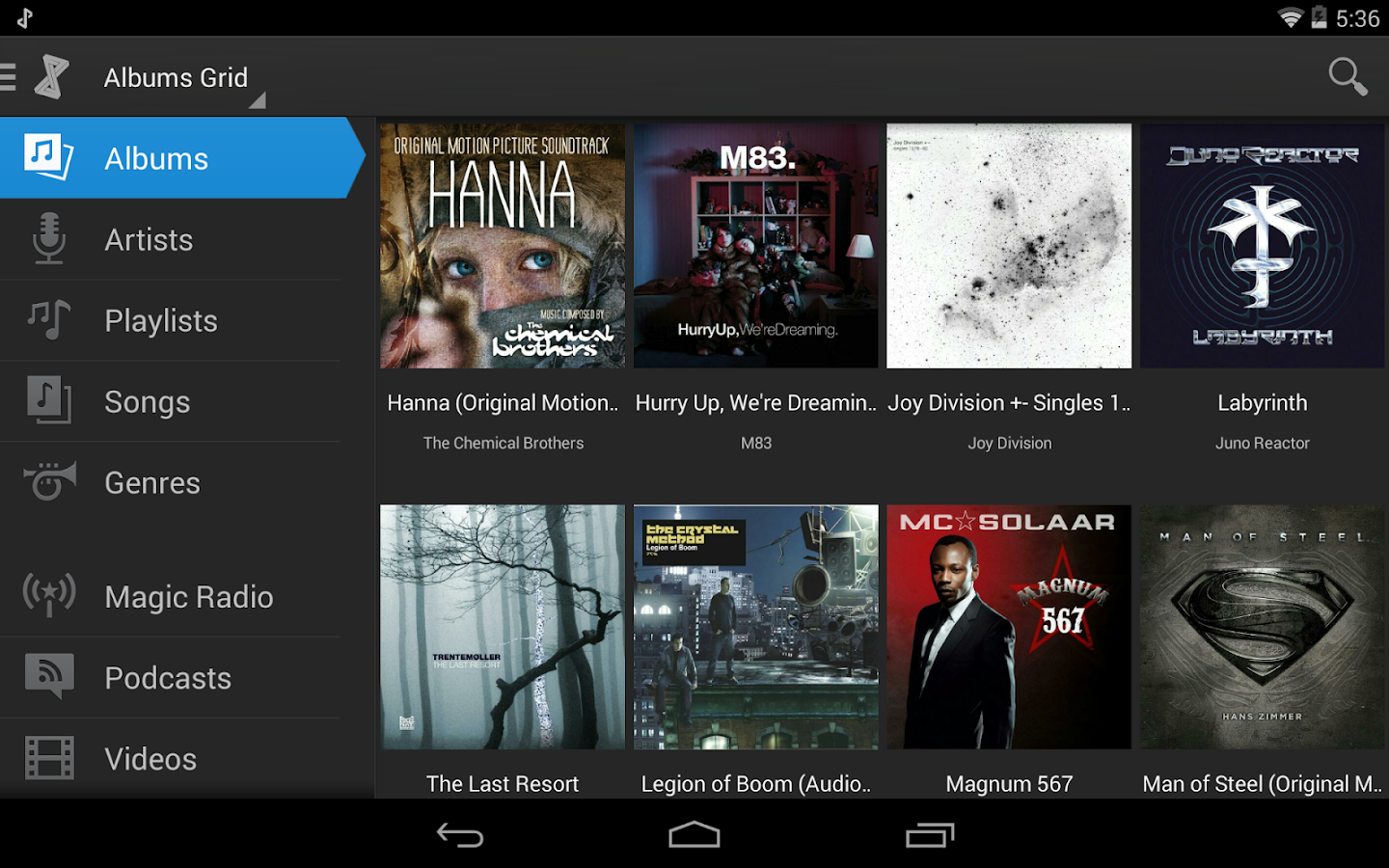 doubleTwist Music Player - screenshot