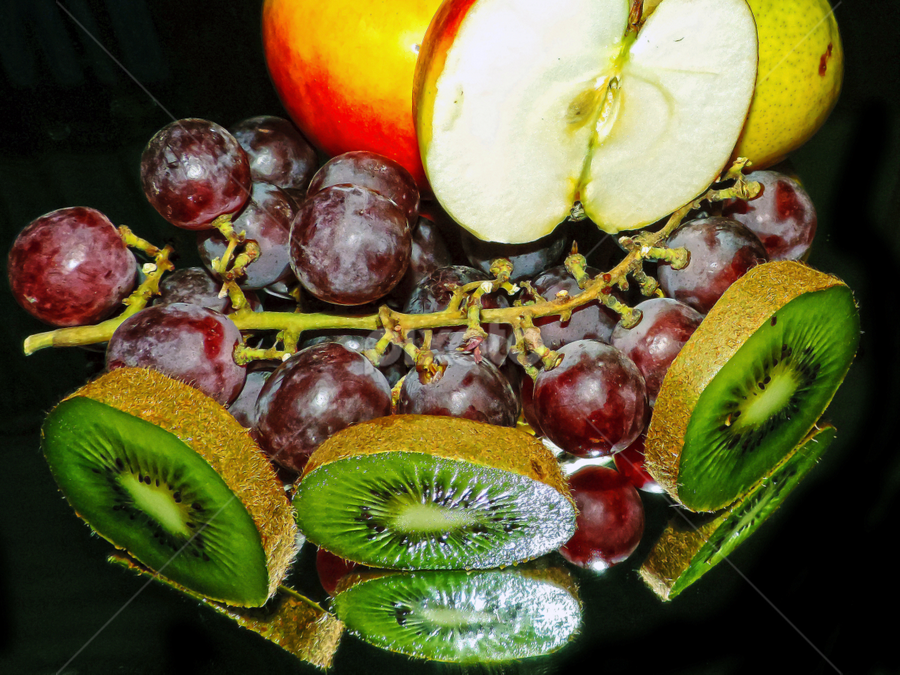 more fruits by LADOCKi Elvira - Food & Drink Fruits & Vegetables ( kiwi, fruits )