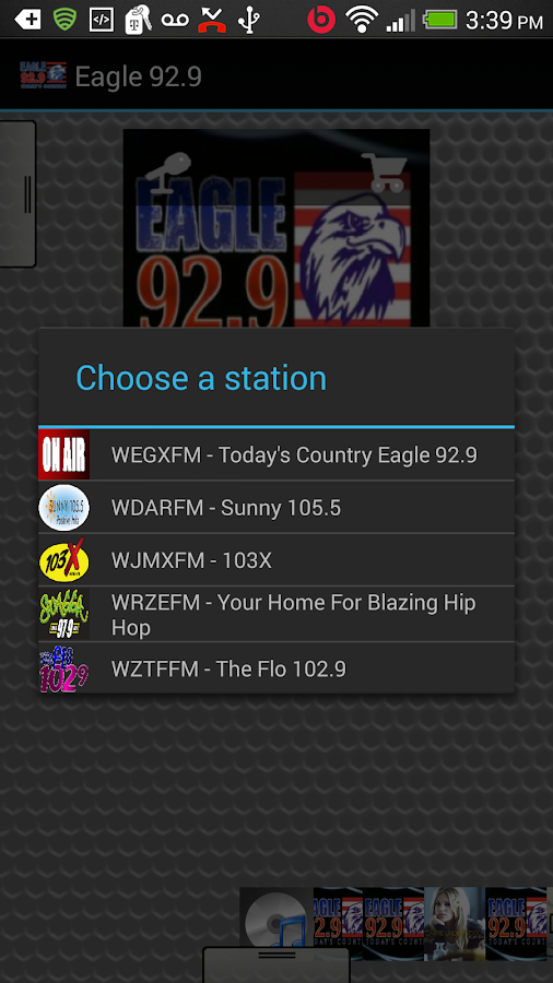 Eagle 92.9 - screenshot