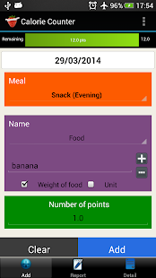 Calorie Counter Simple PRO- screenshot thumbnail