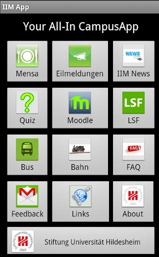 IIM App Uni Hildesheim