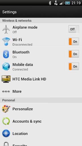 【免費個人化App】Bright Orange-Sense 4+ HD Skin-APP點子